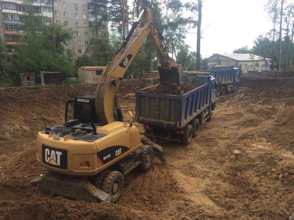 Процесс утилизирования почвы